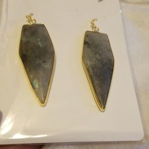 Labrodite earrings